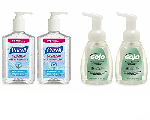 Purell 9652-Ss-Ec Advanced Hand Sanitizer And Gojo Premium Soap Kit front-824056