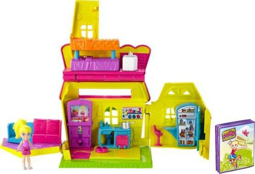 Mattel Polly Pocket Pollyville Gebäude, Sortiment