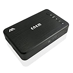 Enem Ultra Portable High Definition HD Multi media Player 1080p with Optical Audio for USB, HDD, SD cards