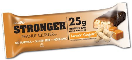 Nugo Stronger Peanut Cluster 2.82 Ounces (Pack Of 12)