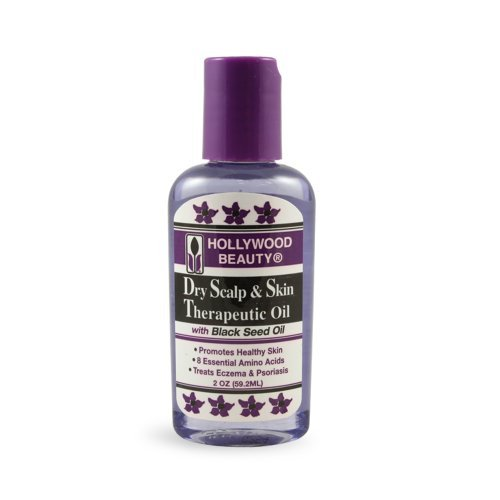 Hollywood Beauty Dry Scalp & Skin Therapeutic Oil With Black Seed Oil