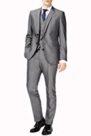 Limited Collection Slim Fit 2 Button Plain Suit [T15-2003-S/T15-2004-S]