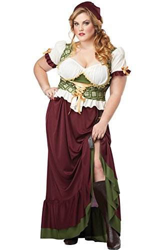 Renaissance Wench Plus Size Costume (Plus Size Renaissance Wench Costume)