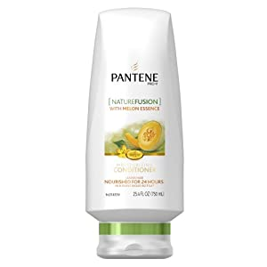 Pantene Pro-V Nature Fusion Moisturizing Conditioner with Melon Essence, 25.4-Fluid Ounce (Pack of 2) (packaging may vary)