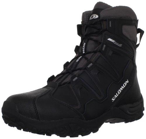 Salomon Men's Snowcat WP Shoe,Black/Autobahn/Autobahn,11 M US