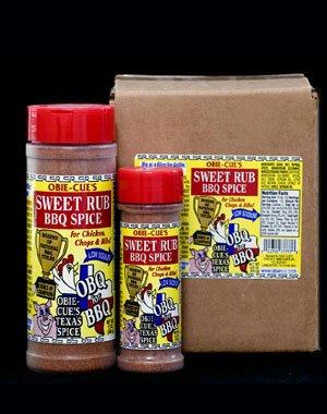 Obie-Cue'S Sweet Rub BBQ Spice 12Oz