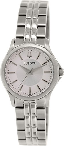 Bulova Women'S 96L152 Analog Display Analog Quartz Silver Watch