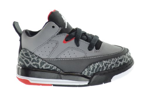 Jordan Son Of Low (TD) Baby Toddlers Basketball Shoes Cement Grey/White-Black-Fire Red 599928-004-5.5