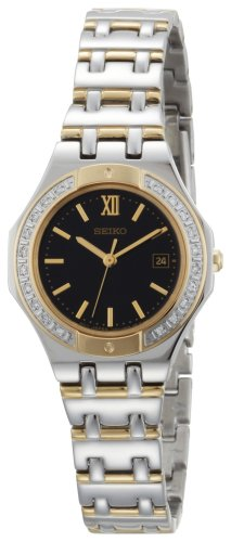 Seiko Women's SXDB30 Sporty Diamond Dress Two-Tone Watch
