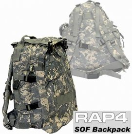 Buy SOF Backpack (Tiger Stripe) - paintball gear bag by Rap4