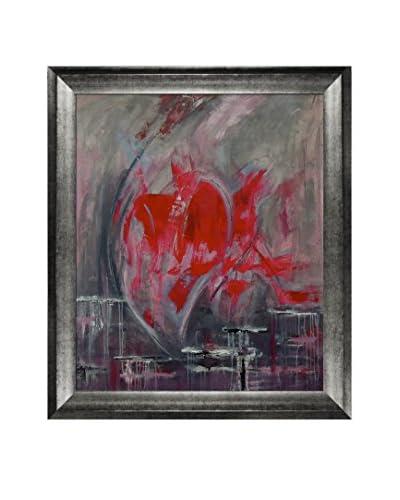 Carla Figallo Cuore Cuore Framed Print on Canvas
