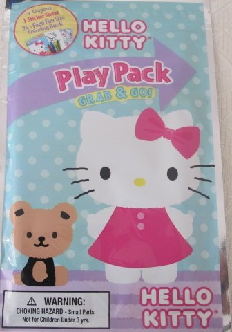 Hello Kitty Play Pack Grab & Go - 1