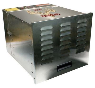 RedHead Stainless Steel 10-Tray Food Dehydrator