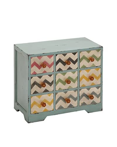 Wood Jewelry Table Chest, Multi