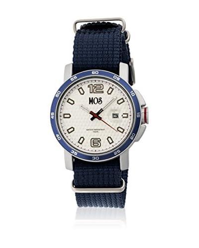 Mos Reloj con movimiento cuarzo japonés Moseb104 Azul Marino 43  mm