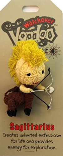 [Watchover Voodoo Sagittarius Doll, One Color, One Size] (Voodoo Doll Costume Child)