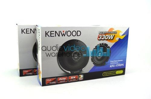 """2 Pair Kenwood Kfc-6965S 6X9"""" 400 Watt 4 Ohm Sport Series 3-Way Speakers (4 Speakers)"""