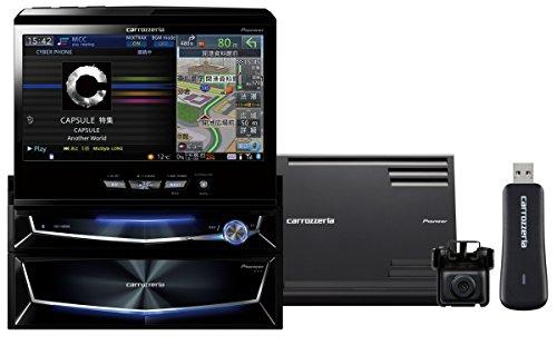 Pioneer  7V型ワイドVGA地上デジタルTV/DVD-V/CD/Bluetooth/USB/SD/チューナー・5.1ch対応・DSP AV一体型HDDナビ スカウターユニットセット AVIC-VH0999S