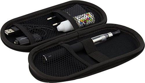 E-Zigaretten Set Einzel-Starterset Schwarz 1x 900mAh Akku, 1x CE5 Verdampfer + 1 gratis V2 Vape Liquid 0mg Nikotin