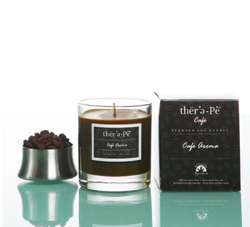 Therepe Cafe Boxed Soy Jar Candle - 9 oz (Cafe Aroma)