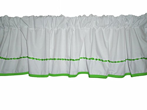 Baby Doll Unique Window Valance, Green Apple front-805098