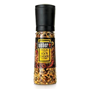Weber Grind'n Grill (Shaker Grinder Bottle) Kick'n Chicken Seasoning 3.50oz