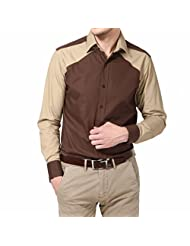 Dazzio Men's Slim Fit Cotton Casual Shirt - B00MNCQYX0
