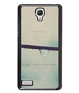 Printvisa 2D Printed Quotes Designer back case cover for Xiaomi Redmi Note 4 / 4G - D4341