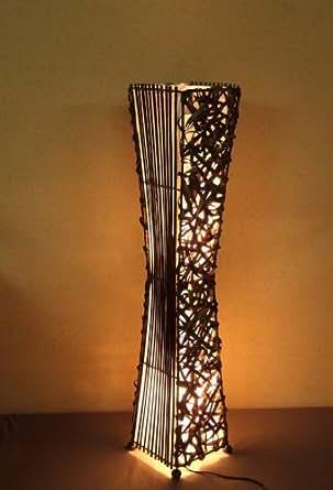lampadaire asiatique kuta la12 40 we lampe design lampe sur pied lampe du sol lampe pied. Black Bedroom Furniture Sets. Home Design Ideas