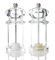 2 Mini Salt & Pepper Mill Set