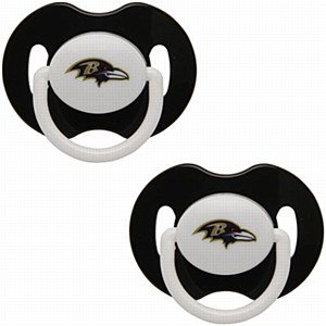 NFL Baltimore Ravens 2 Pack Pacifier