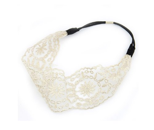 Wisedeal 1pc Lady women girls Elegent Lace Elastic