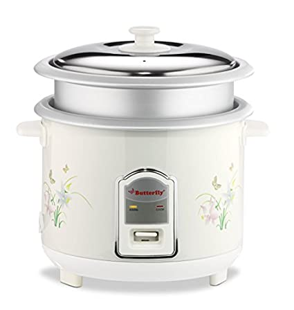 Butterfly Cylindrical 1.8 Ltr Electric Rice Cooker