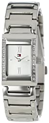 Tommy Hilfiger Womens 1780404 Crystal Accented Stainless
