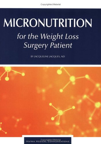 Micronutrition For The Weight Loss Surgery Patient front-23638