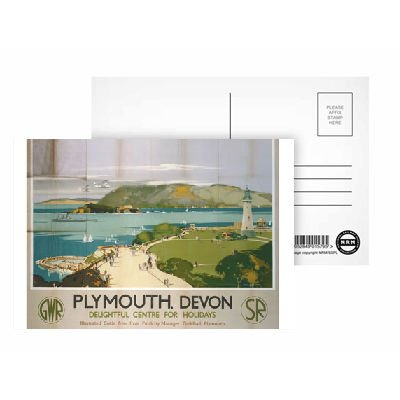plymouth-devon-delightful-centre-for-holidays-postcard-pack-of-8-highest-quality