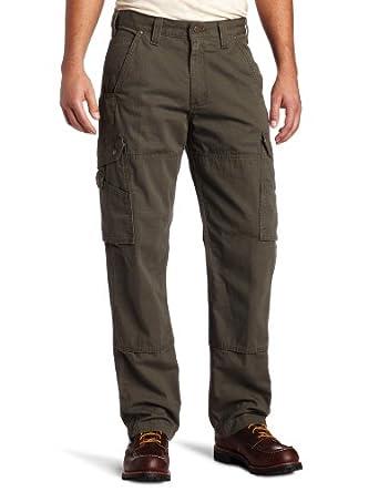 Carhartt B342 Men's Cotton Ripstop Pant Moss 28W x 30L
