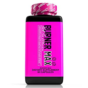 SHREDZ® Burner MAX for Women (1 Month) - Lose Weight, Increase Energy, Clinically Tested, Superior Results!