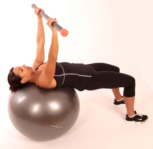 Stability Ball With Pump Exercise Fitness Body Balance 65 Cm