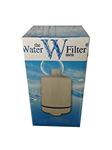 inline shower water filter x1 filters lime and chlorine for healthier hair. Black Bedroom Furniture Sets. Home Design Ideas