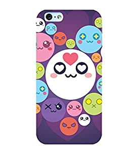 printtech Smiley Circle Memes Back Case Cover for Apple iPhone 6 Plus
