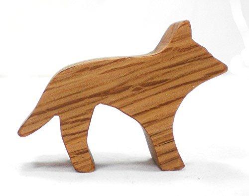 Wooden Toy Dingo Australian Animal