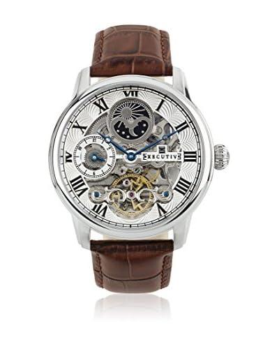 Executive Reloj automático Man Nicky Marrón 44 mm