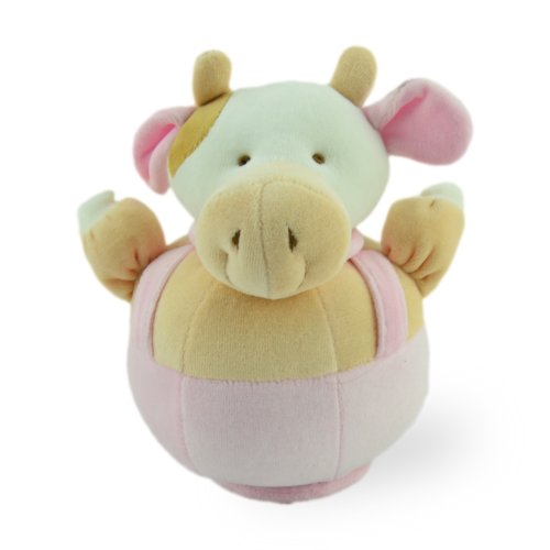 Spinning Musical Cutie Cow Plush Baby Toy