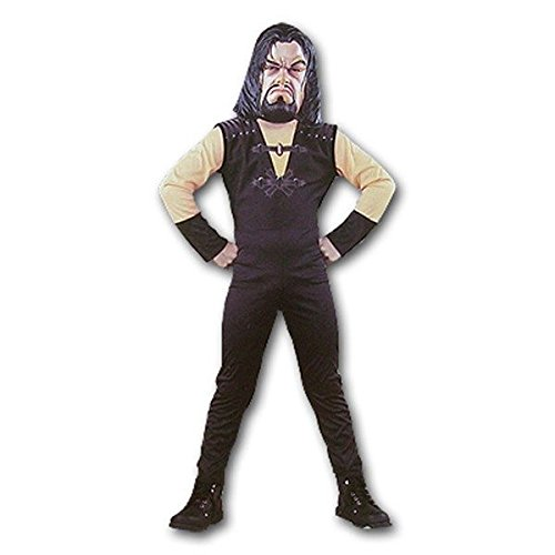 [Disguise Inc The Undertaker World Wrestling Halloween Costume Teen 12-14 NO MASK] (Undertaker Childrens Costume)