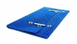 Camco 42924 Wrap Around Step Rug (Blue)