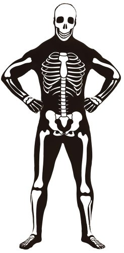 Adult Skeleton 2nd Skin Zentai Super Suit Costume