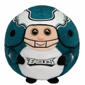 "Ty Beanie Ballz 13"" Philadelphia Eagles Plush front-500538"