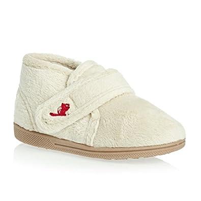 Chipmunks Dream Slippers - Cream