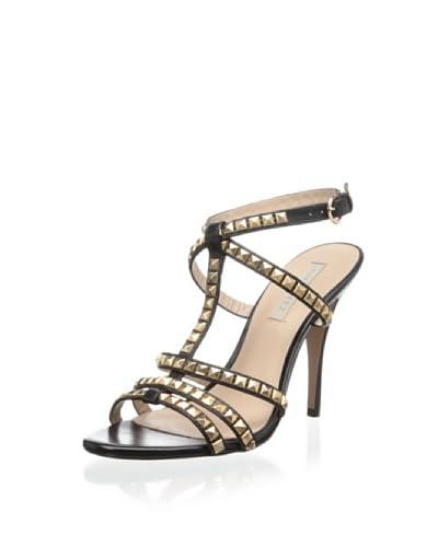 Pura Lopez Women's T-Strap Sandal